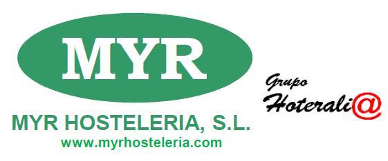 Logo myr hosteleria