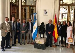 Foto Cocahi Embajada Argentina